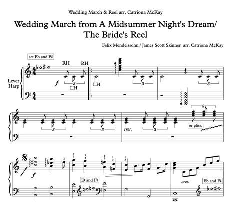 Wedding March & Reel arr. C McKay