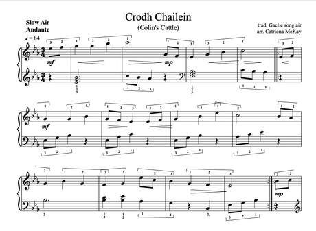 Crodh Chailein, Colin's Cattle arr. Catriona McKay