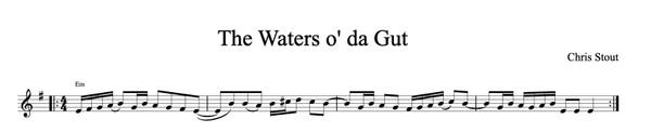 Da Waters o' da Gut - Chris Stout, solo fiddle & mp3