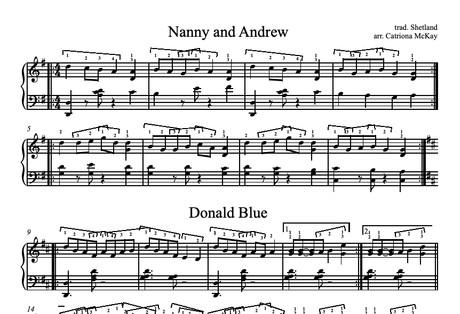 Nanny and Andrew, Shetland Reel Set arr. C McKay