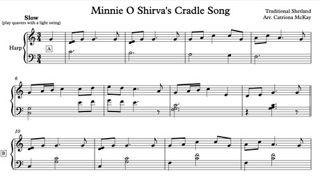 Minnie O Shirva's Cradle Song, Elementary arr. C McKay