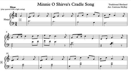 Minnie O Shirva's Cradle Song, Elementary arr. C McKay