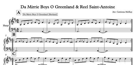 Da Mirrie Boys O Greenland & Reel Saint-Antoine arr. C McKay