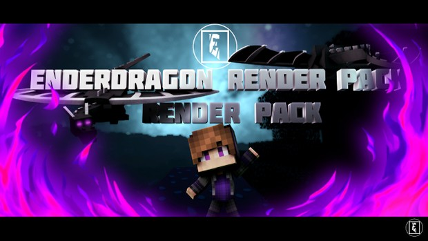 ENDERDRAGON RENDER PACK   Pack Filled With EnderDragon Poses PLUS MORE STUFF!