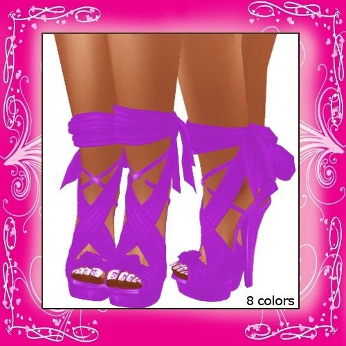 Freebie - Satin Pumps