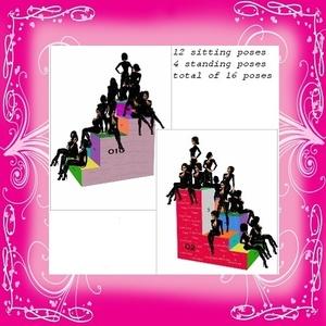 16 Pose Boxed/Stair Seat Mesh