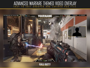 Advanced Warfare Video Overlay