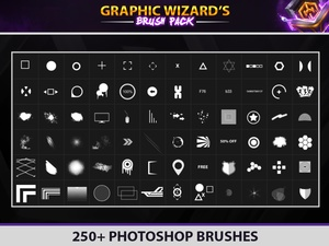 250+ Photoshop Brush Pack