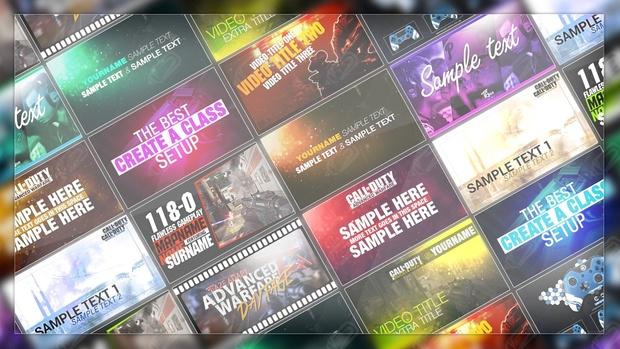 x10 youtube thumbnail template psd graphic wizard