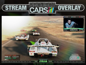 Project Cars Stream Overlay