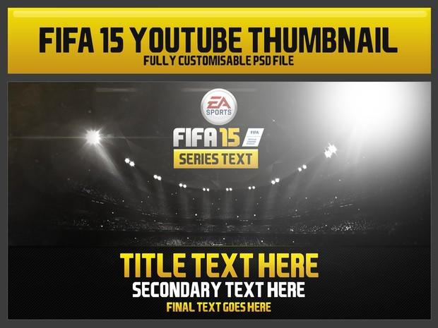 FIFA15 Youtube thumbnail