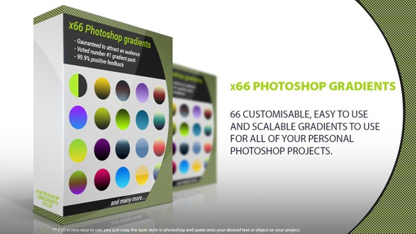 x66 Gradients for Photoshop