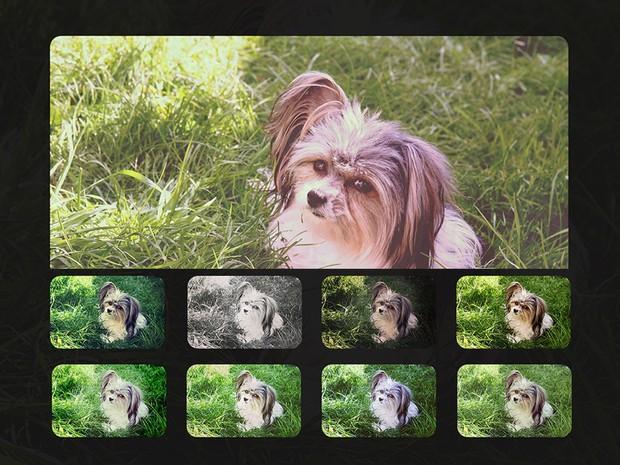 9 instagram filters PSD