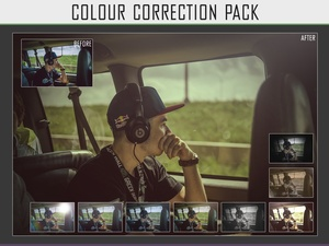 x10 Colour Correction pack