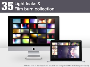 Light Leaks and Film Burn collection