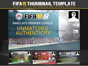 Fifa 15 Thumbnail Template
