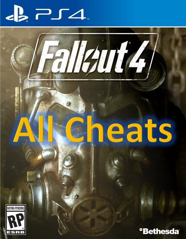 cheat code fallout 4 ps4