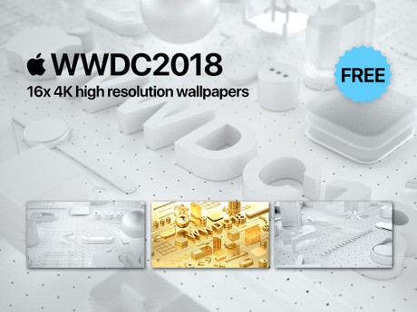 Apple WWDC2018 high resolution wallpapers