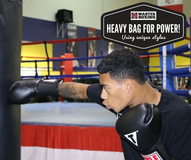 Heavy Bag Regimen For POWER!