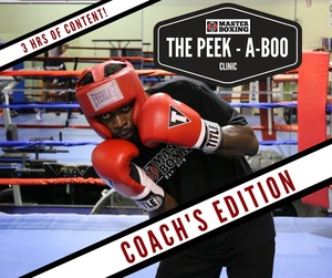 Peek-A-Boo Coach's Clinic by Coach Eric A. Bradley