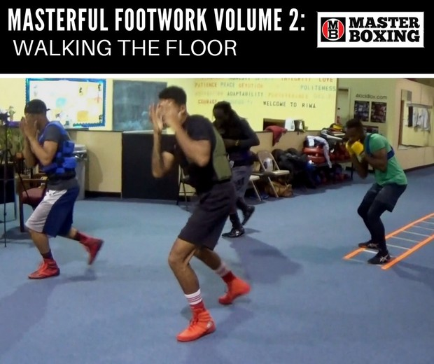 MASTERFUL FOOTWORK BY COACH ERIC BRADLEY VOL. 2:  WALKING THE FLOOR