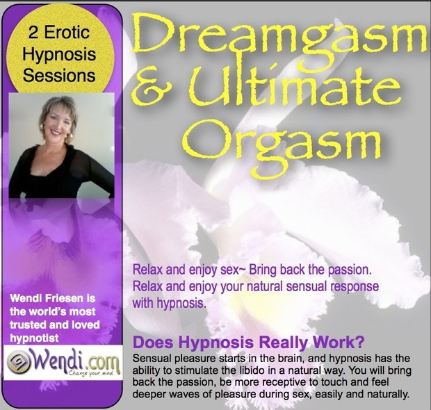 Ultimate Orgasm - hypnosis session to help you relax and enjoy sex and feel more pleasure