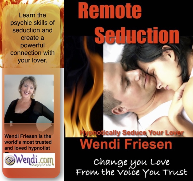 Remote Seduction - hypnosis to send loving, erotic thoughts to another remotely.