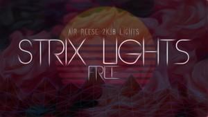 [HOT] [FREE] Air Reese StriX Lights w/ AE file & C4D File