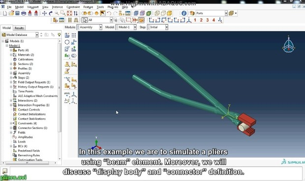 Learning Connectors in Abaqus