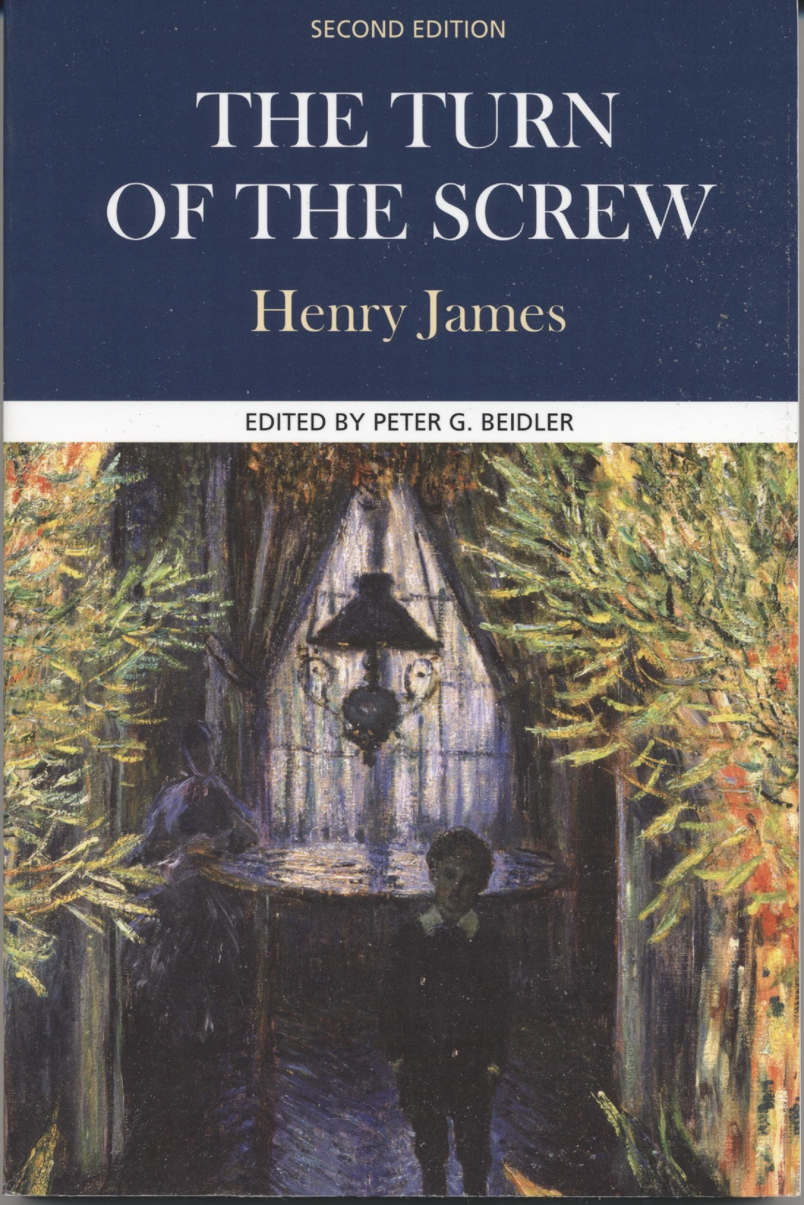 henry jamess the turn of the screw If the child gives the effect another turn of the screw, what do you say to two children-- we say, of course, somebody exclaimed, that they give two turns he passed his hand over his eyes, made a little wincing grimace for dreadful--dreadfulness oh, how delicious cried one of the women.