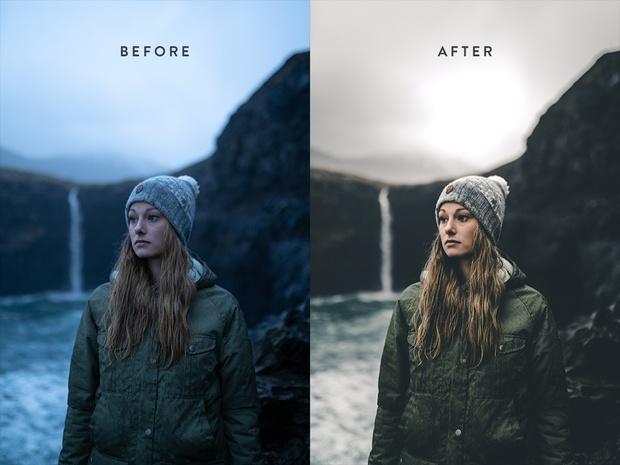 Faroe Islands Lightroom Presets by SVB