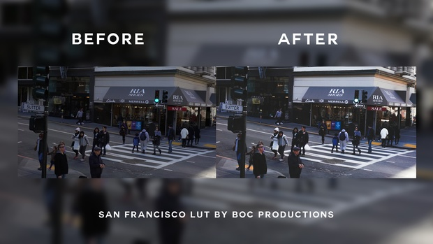 San Francisco LUT | Faded, light and cinematic