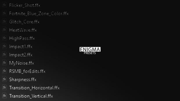 Enigma Presets v.1