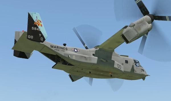 MV-22 Osprey New cockpit