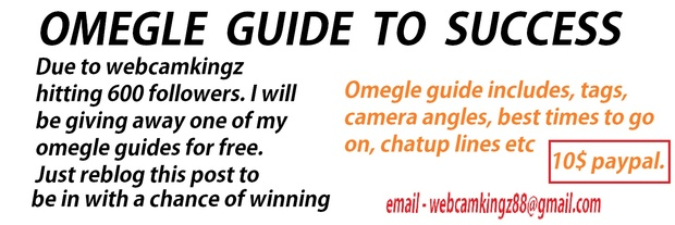 Omegle - Guide to Success