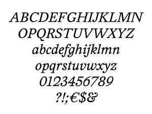 HaarlemAM Regular Italic