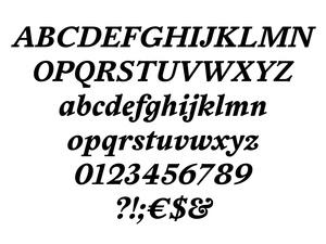 HaarlemAM Bold Italic