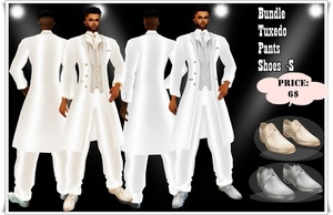 packs tuxedo 6 colors