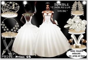 BUNDLE Bride CINDERELLA