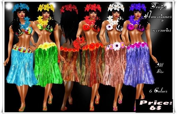 Dreses Hawaii