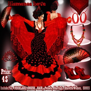 Bundle *FLAMENCA LOVE*