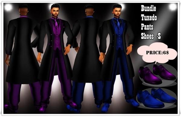 Tuxedo Blue and Purpure