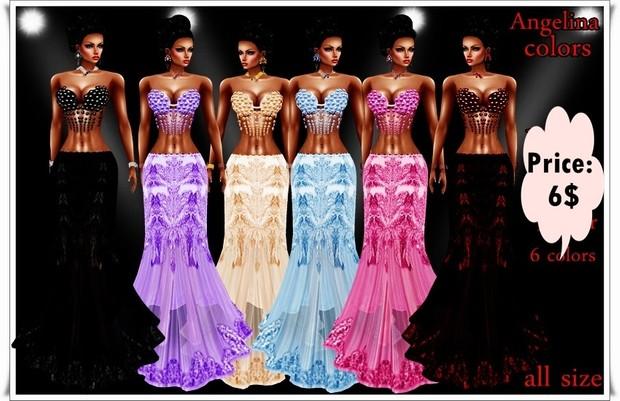Angelina colors