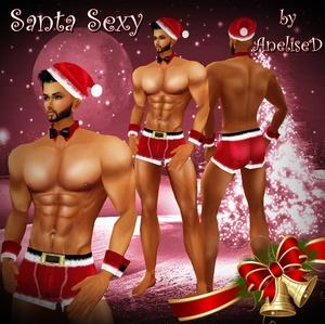Santa Sexy.