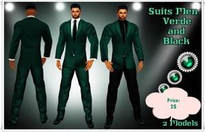 Full Suit Men Verde