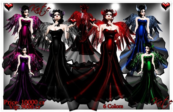 Dress and accesories Kate Vamp