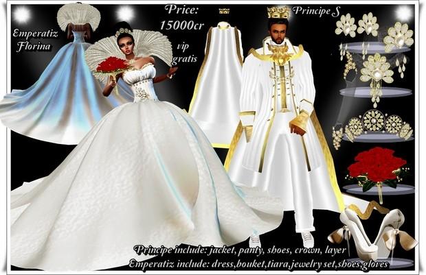 Principe y reyna Florina