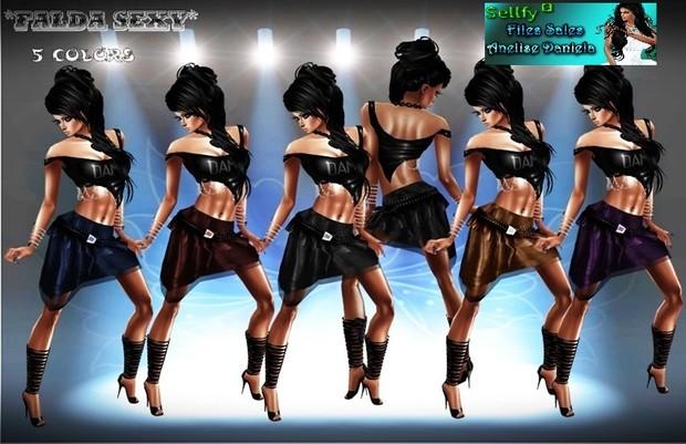 Falda sexy