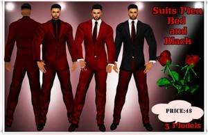 Full Suit Men RED