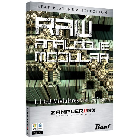 RAM – Raw Analogue Modular – 80 patches for Zampler//RX workstation